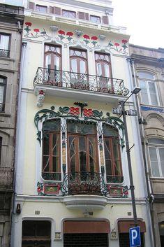Casa Arte Nova Cidade do Porto, Portugal