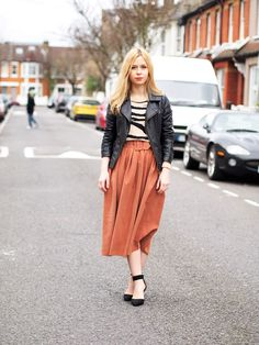 The Midi Skirt outfit