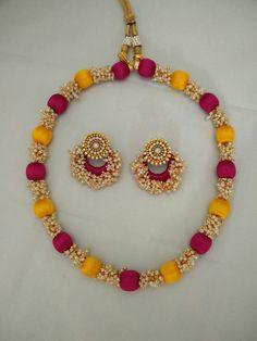 Yaalz pearl neck chain For orders whatsapp in 8971045612