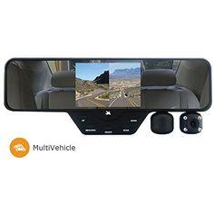 Falcon Zero F360 HD DVR Dual 1080P 3.5-Inch Color TFT Rear View Mirror LCD Dash Cam