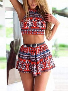 Red National Style Backless Crop Top With High Waist Shorts - See more at: http://www.choies.com/product/red-national-style-backless-crop-top-with-high-waist-shorts_p41869#sthash.YqKMPf7c.dpuf
