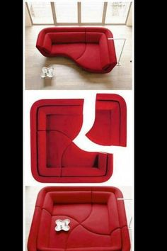 Interesting furniture, you could trap a baby pig in this easily! Just kidding. I've always thought 'create-your-own-specific-design' furniture items were kool.
