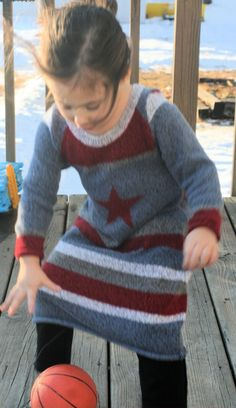 Make a gorgeous sweater dress for your little girl in 1/2 hour by re-using most any sweater!  I can't sew at all, but maybe you can!  They say even novice sewers can do this!