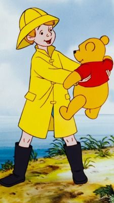 *CHRISTOPHER & POOH ~ Winnie the Poo