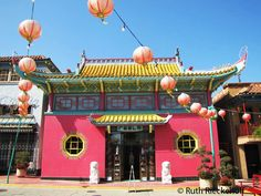 Pink Building, Chinatown, Los Angeles