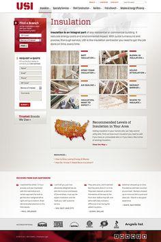 Web Design and Development by Windmill Design for USI