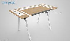 Desk concept on Behance