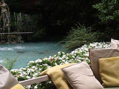 Un dettaglio della location del corso, il Garden dello Sheraton Diana Majestic.