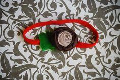 BUCKEYE LOVE handmade headband  An original by FinnsFeathers, $9.99