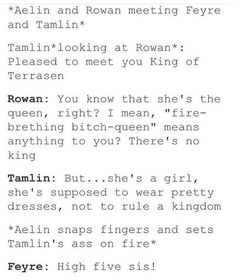 """This, I can just imagine literally everyone going, """"Fuck you, Tamlin,"""" while laughing when Tamlin is burning & screaming in pain"""