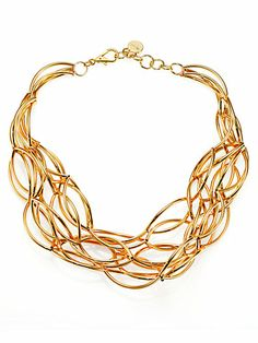 Nest - Twisted Collar Necklace - Available at saksfifthavenue.com