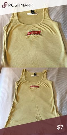 Detroit beer company tank top green shirt Preowned good condition none Tops Tank Tops