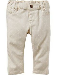 Skinny Pop-Color Pants for Baby