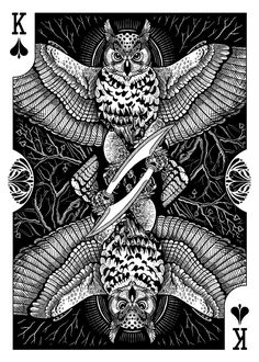Renee LeCompte - Parrots of the World Playing Cards - PhillyCardCo