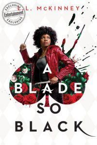 Can't Wait Wednesday A blade so black: A badass Alice juggles Wonderland and real life, and finding an antidote for her mentor who has been poisoned. Read more about it here: Can't Wait Wednesday: A Blade So Black http://editingeverything.com/blog/2018/02/07/cant-wait-wednesday-blade-black/