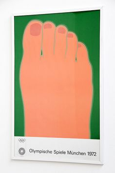 Munich Olympics Poster 1972 by Theory of Supply, via Flickr