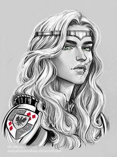 Meve by Anastasia Kulakovskaya (Witcher)