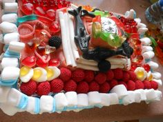 Mi tarta de chuches:)