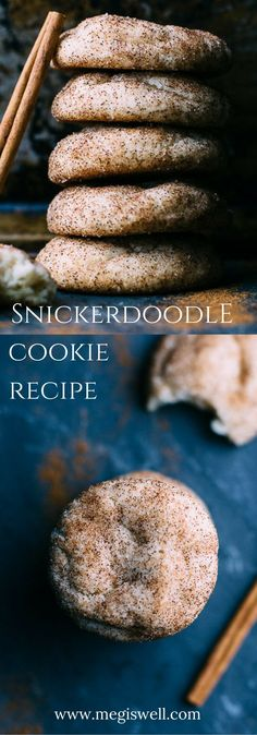 This Snickerdoodle Cookie recipe is classic, simple, and easy. Sometimes you just can't beat cinnamon and sugar.