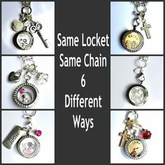 These lockets are so beautiful!  Get creative and show off the many ways to wear it!