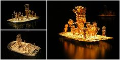 The Muisca Raft: A golden statue discovered in a cave near Bogota may be the key behind the myth of El Dorado