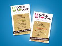 Identité Visuelle / logo / Supports print / Site Internet / Signalétique intérieure et extérieure / La Coeur en Bouche restaurant et épicerie fine / La compagnie des images