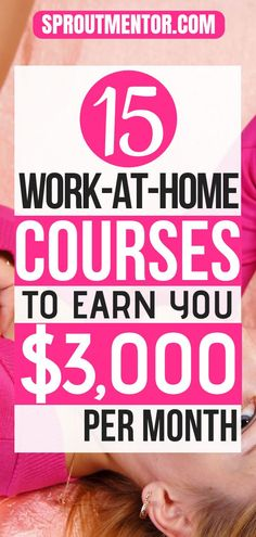 15 best online courses that will teach you to make more than $300 daily working from home. You will learn how to make money with all types of online jobs, such as proofreading, writing, blogging and transcription among others. #courses #onlinecourses #bestonlinecourses #workfromhome #workathome #workfromhomejobs #workathomejobs #onlinejobs #makemoneyonline