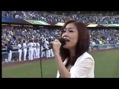 [MLB] Lena Park(박정현) - US National Anthem(미국국가) & 애국가(Korea National Ant...