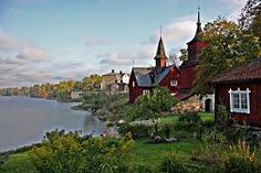 suomen kansallismaisema - Google-haku Helsinki, Good Neighbor, My Land, Best Cities, Old Town, Perfect Place, Adventure Travel, Norway, Beautiful Pictures