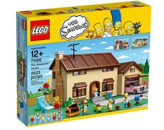 The Simpsons LEGO set...my cousin would love this