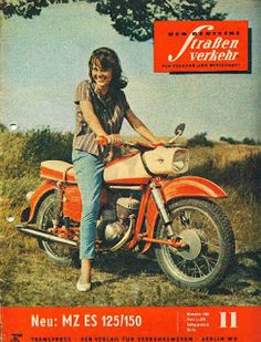 History of Motorradwerk Zschopau: DKW, IFA and MZ Motorcycles – Flesh & Relics Vintage Bikes, Vintage Motorcycles, Cars And Motorcycles, Motorcycle Posters, Motorcycle Bike, Trucks And Girls, Motor Scooters, Old Bikes, Classic Bikes