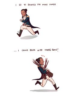 ...And ships, and so the battle shifts!! :D One of my favorites!!! LAFAYETTE
