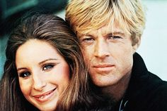 Robert Redford & Barbara Streisand Original The Way We Were Movie Photo. Romantic Films, Most Romantic, Barbra Streisand Robert Redford, Movie Stars, Movie Tv, Movie Photo, Stars D'hollywood, Beaux Couples, Paris Match