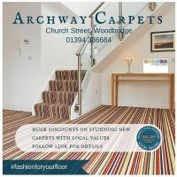 With 30 years of experience and the latest carpet designs Archway Carpets is the place to for all your carpet and flooring needs. #FashionForYourFeet