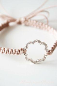 DIY macrame bracelet