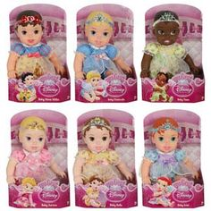 My First Disney Princess Baby Dolls