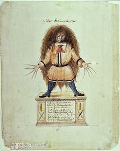 Slovenly Peter, Der Struwwelpeter;Four and Twenty