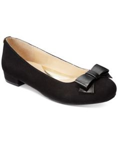 Ivanka Trump Girls' or Little Girls' Haven Heeled Dress Shoes $49.00 Pretty and polished, these Ivanka Trump bow-detail dress shoes are finished with a subtle heel.