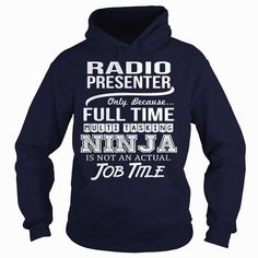 Awesome Tee For Radio Presenter