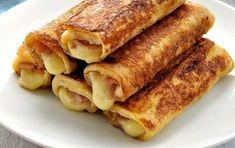 Οι αυγοφέτες με ζαμπόν και τυρί είναι ιδανικές για το πρωινό μικρών και μεγάλων! Γευστικές, χορταστικές και πολύ εύκολες! Breakfast Snacks, Breakfast Recipes, Food Network Recipes, Food Processor Recipes, Cooking Time, Cooking Recipes, Mumbai Street Food, Greek Recipes, Finger Foods