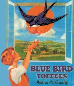 Bluebird Toffees, 1935