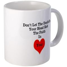Doubt Mugs on CafePress.com