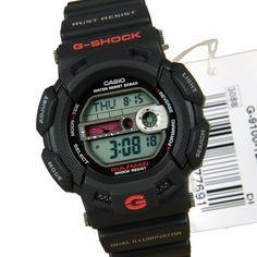 Casio G-Shock Digital Sports Watch Sport Watches, Cool Watches, G Shock Gulfman, Casio Vintage, Digital Sports Watch, Casio G Shock, Watches Online, Casio Watch, Tao