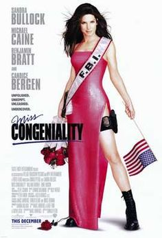 Miss Congeniality Movie Poster (2000)