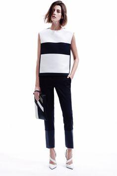 Narciso Rodriguez Pre-Fall 2014 Fashion Show - Cristina Hermann Moda Peru, Fashion Show, Fashion Looks, Fashion Trends, Looks Style, My Style, Fashion Details, Fashion Design, Look Chic