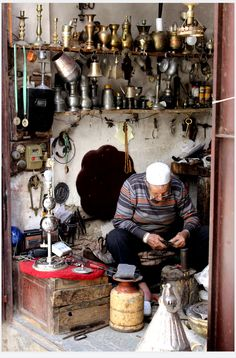 Handcrafted. Fez, Morocco, Africa.