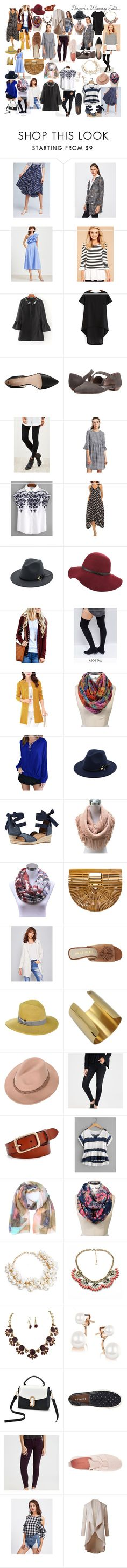 """""""Dawn's Winery Edit..."""" by charlotteanndove on Polyvore featuring Anthropologie, Nine West, LifeStride, ASOS and American Eagle Outfitters"""