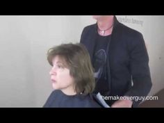 MAKEOVER: Afraid Of Going Short, by Christopher Hopkins, The Makeover Guy®