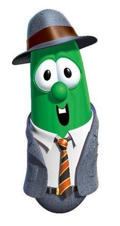 Stewart Green  (Larry the Cucumber)