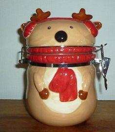 Christmas Reindeer Jar